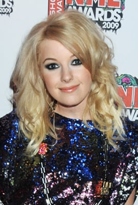 Little Boots at 2009 NME Awards