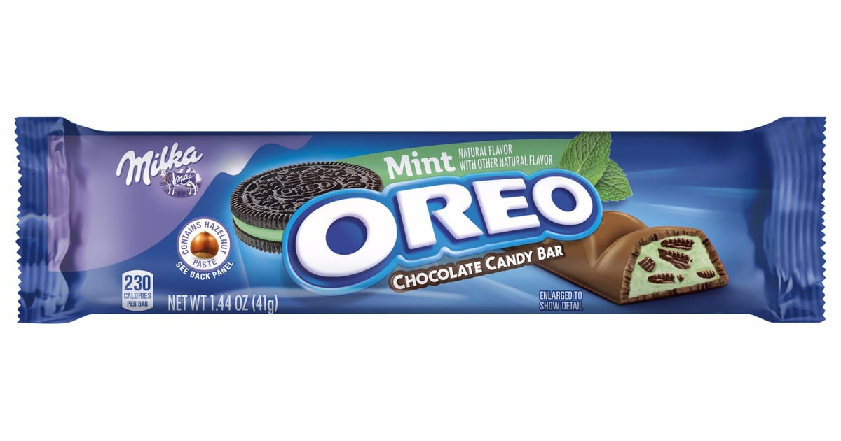 Oreo Mint Flavored Chocolate Candy Bar Popsugar Food