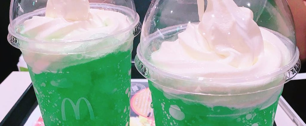 We're Green With Envy Over Japan McDonald's Melon Ice Cream Float