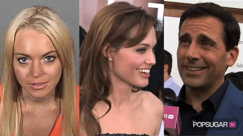 Video of Lindsay Lohan in Court Before Jail, Video of Angelina Jolie and Brad Pitt at the Salt Premiere, and Steve Carell Interv