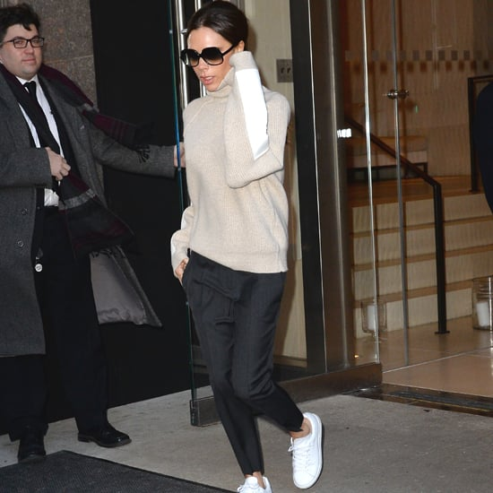 Victoria Beckham Wearing Adidas NMD Sneakers