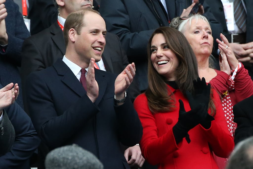 Kate and William had heart eyes for each other when they attended a rugby match between France and Wales in the City of Lights.