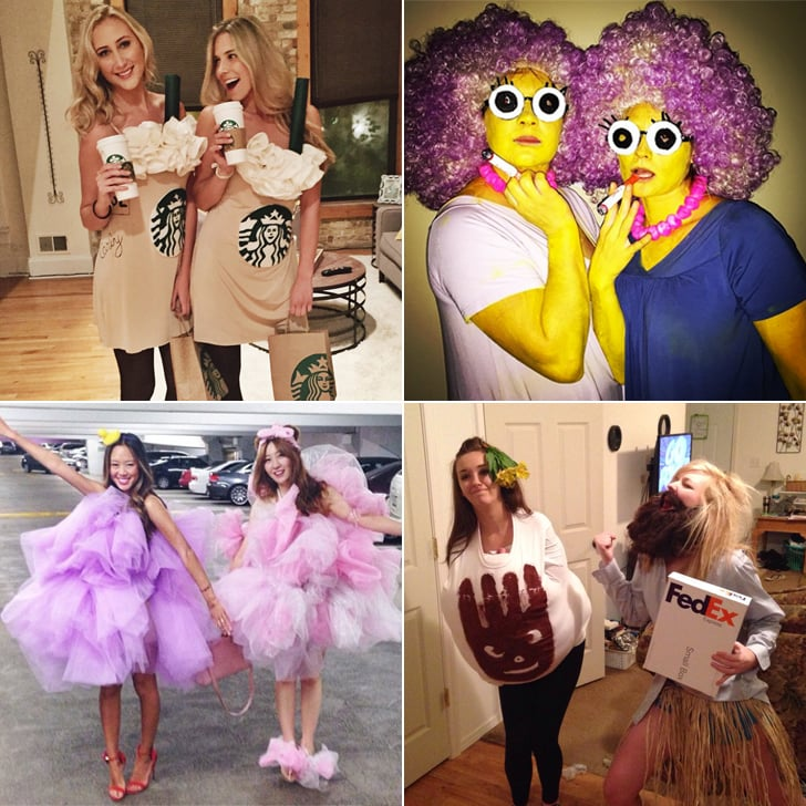 diy halloween costumes for best friends popsugar smart living. Black Bedroom Furniture Sets. Home Design Ideas
