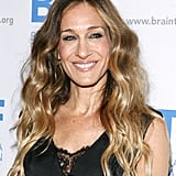 Sarah Jessica Parker smiled at NYC's Pierre Hotel.