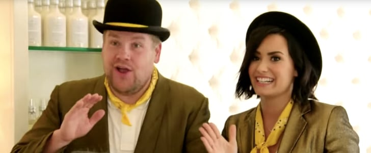 Demi Lovato and James Corden's Singing Telegrams | Video