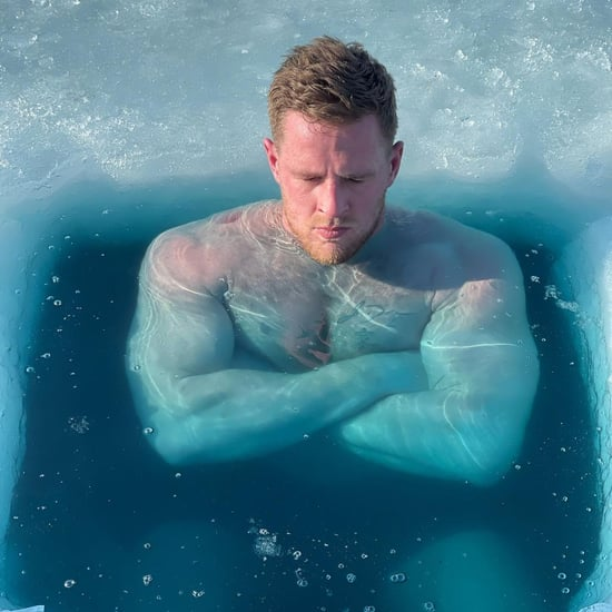 J.J. Watt Ice Bath Instagram Photos