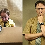 Distraught Dwight Schrute