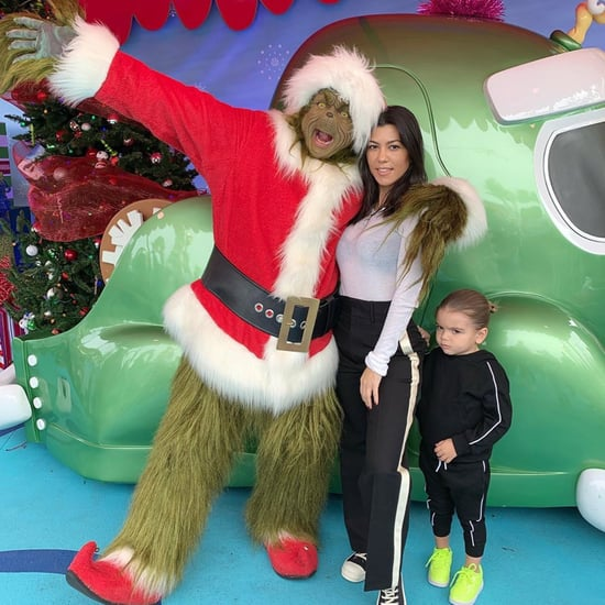 Kourtney Kardashian's Kids With the Grinch