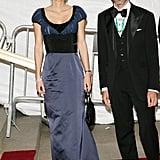 Queen Rania of Jordan at the 2007 Met Gala