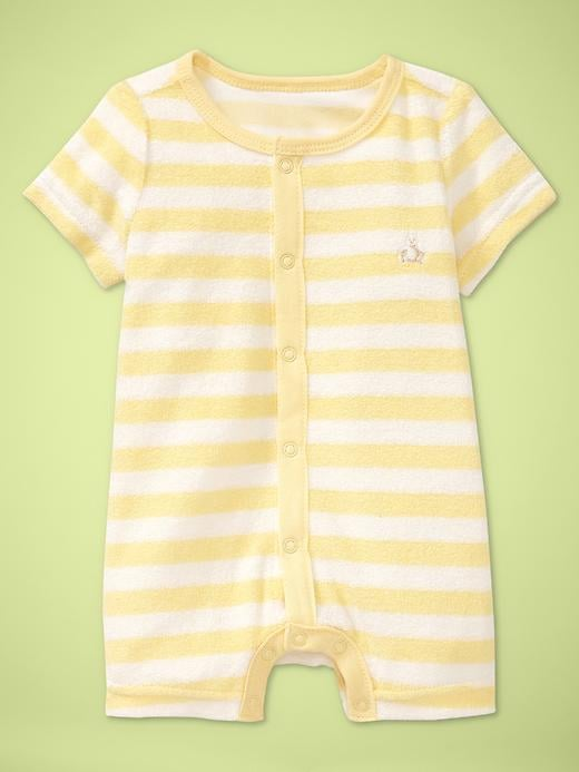 Baby Gap Favorite Striped Terry Romper ($20)