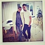 Nicole Richie paid a visit to designer Anthony Vaccarello's Paris studio. Source: Instagram user nicolerichie