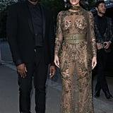 Kim Kardashian and Kanye West at Vogue 100 Gala Dinner 2016