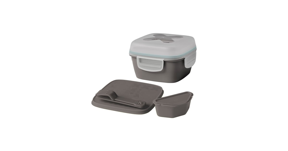 ikea blandning lunch box for salad containers for portion control popsugar fitness. Black Bedroom Furniture Sets. Home Design Ideas