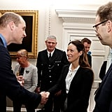 Prince Harry and William With Met Excellence Winners 2018