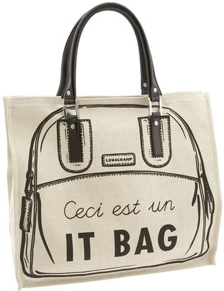 "The Bag To Have: Longchamp ""It Bag"" Vertical Tote"