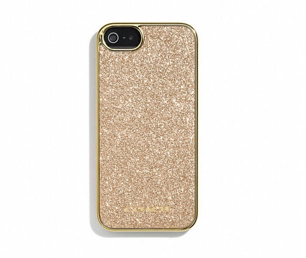 Coach Glitter iPhone Case