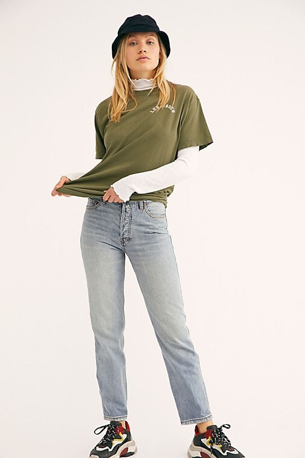 We The Free High-Rise Boyfriend Jeans