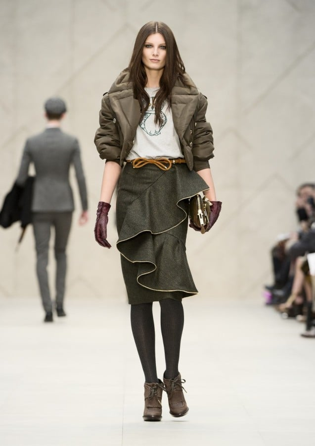 Burberry Prorsum Runway Fall 2012