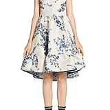 Fendi Floral Fit & Flare Dress