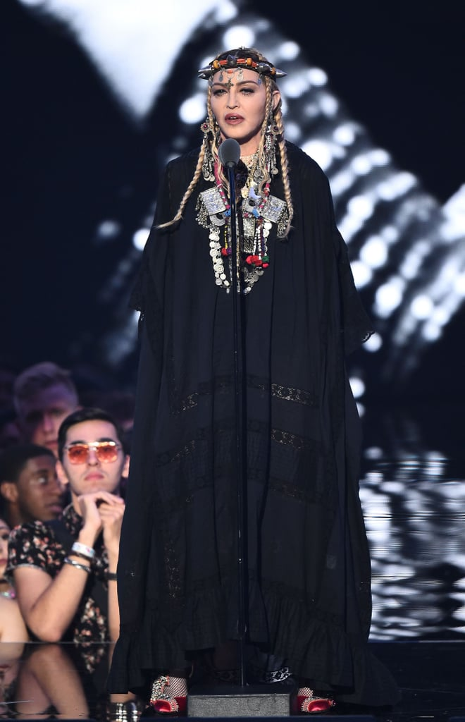 Madonna's Outfit at the 2018 MTV VMAs