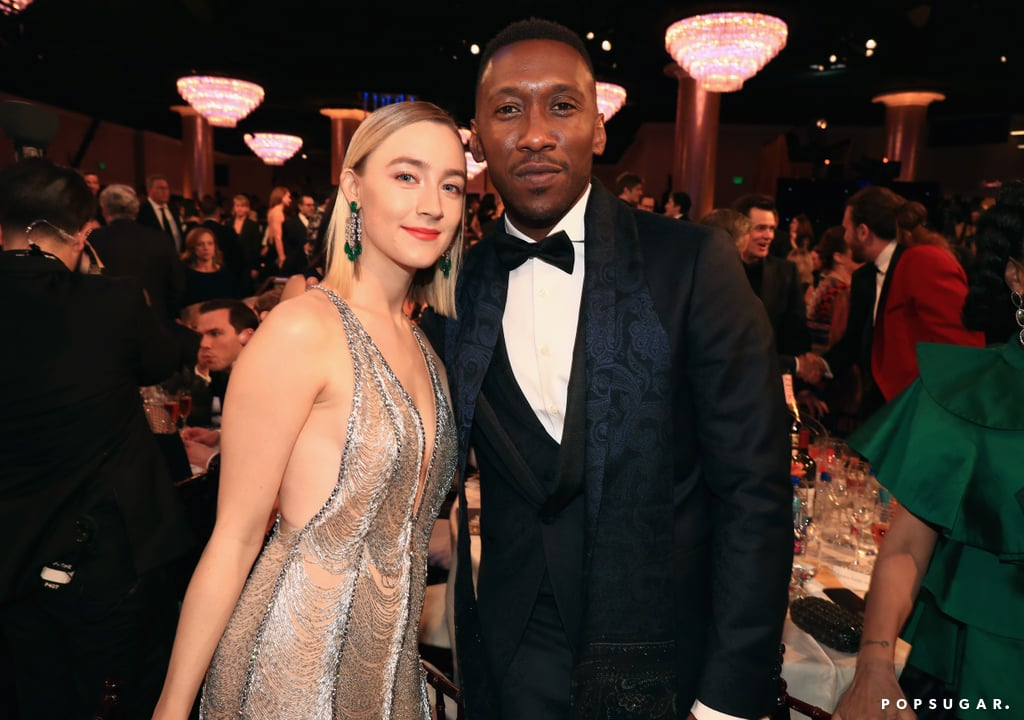 Pictured: Saoirse Ronan and Mahershala Ali