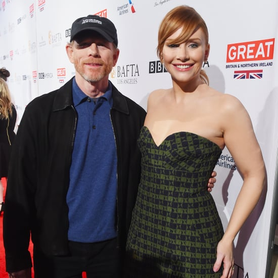 Bryce Dallas Howard and Ron Howard at BAFTA Tea Party 2017