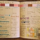 Make a Comprehensive Weekly Schedule