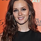 Leighton Meester's Brunette Curls in 2012