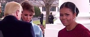 Michelle Obama's Reaction to Melania Trump's Gift Is Basically Meme GOLD