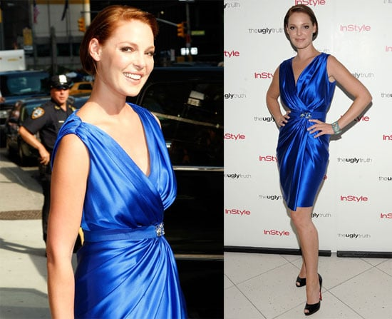 Photos and Videos of Katherine Heigl on Good Morning America and The Late Show