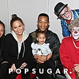 Chrissy Teigen and John Legend Family Pictures