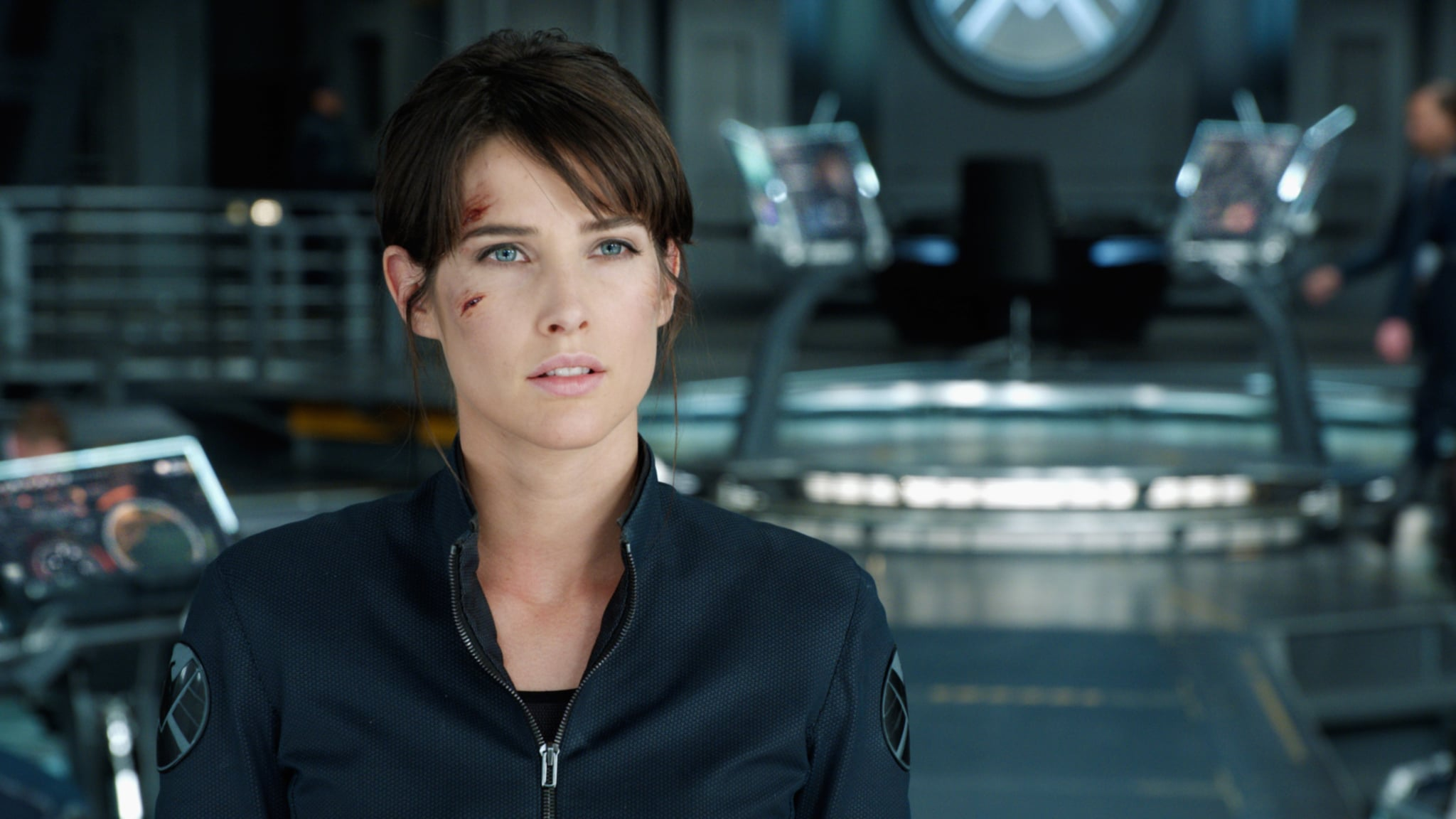 THE AVENGERS, Cobie Smulders, 2012, Walt Disney Studios Motion Pictures/courtesy Everett Collection