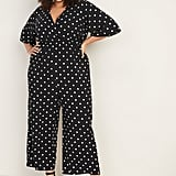 Old Navy Plus-Size Wrap-Front Bell-Sleeve Jumpsuit