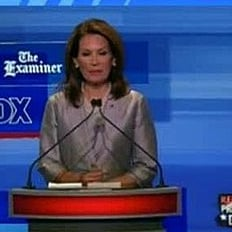 Michele Bachmann Asked If She's Submissive Wife at Debate