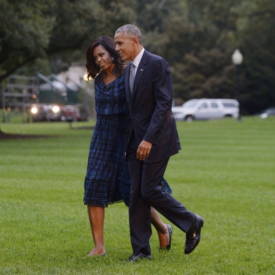 Michelle Obama Wearing Flats