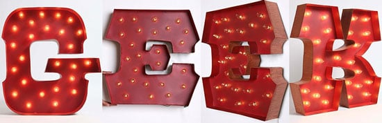 Can You DIY The Marquee Alphabet Lights From Urban Outfitters?
