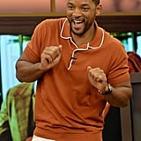 Will Smith got a little jiggy with it on the Miami set of Despierta America on Wednesday.