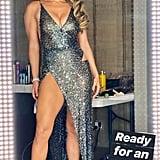Jennifer Lopez's Julien Macdonald Dress at Oscars Party 2020