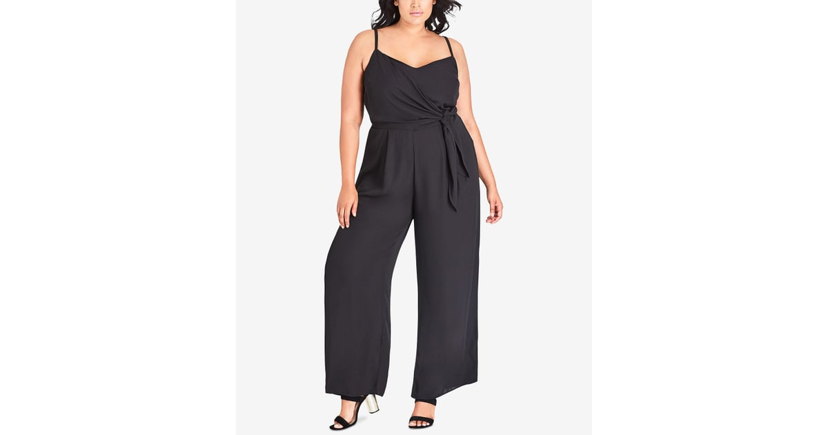 d72174ee282 City Chic Trendy Plus Size Side-Tie Jumpsuit