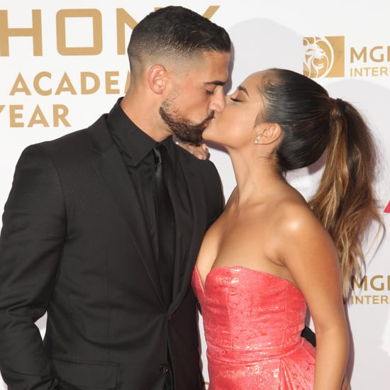 Becky G and Sebastian Lletget at Person of the Year 2016
