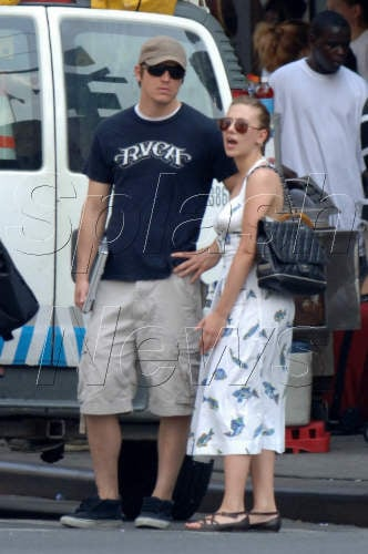 Scarlett and Josh in NYC
