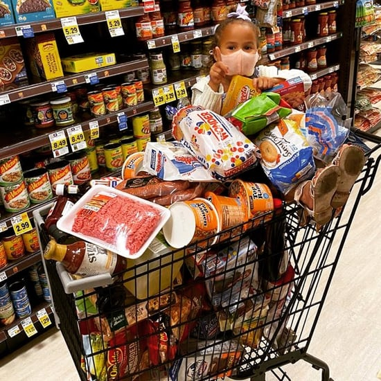 What's Inside Chrissy Teigen's Grocery Shopping Cart?