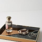 Anthropologie Rose-Gold Vanity Tray