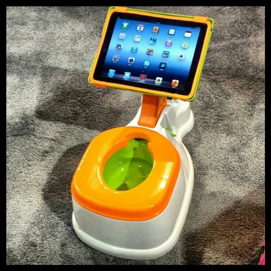 The iPotty iPad Potty-Training Toilet