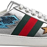 The epitome of fun and flashy, these Gucci Ace Sneakers ($695) are truly one of a kind.