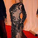 Beyoncé Knowles's Givenchy dress left little to the imagination