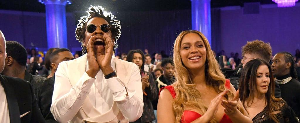 Beyoncé and JAY-Z Sat During National Anthem at Super Bowl