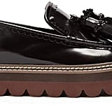 See by Chloé Tassel Leather Flatform Loafers