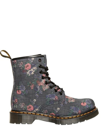 Get the Clarissa Explains It All look, right down to your footwear with these Dr. Martens Floral Printed Denim Boots ($192).