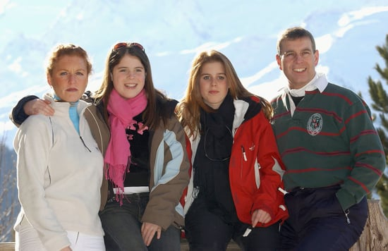 Pictures of Prince Andrew With His Family